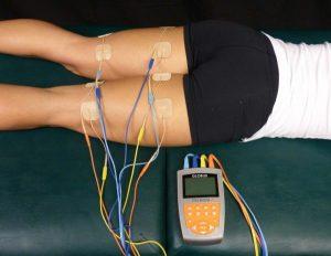 elettrostimolatore per recupero muscolare e massaggio