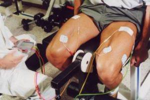 elettrostimolatore per quadricipite